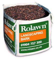 Rolawn Landscaping Bark 1m Bulk Bag 1000 litres approx volume when packed