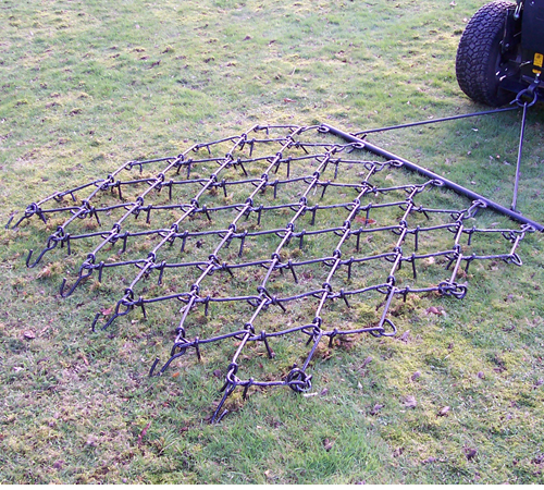 SCH Lightweight Three Way Chain Harrow 5 foot width 3WCH5