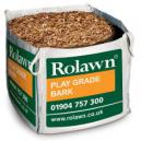 Rolawn Play Grade Bark Bag 1m Bulk Bag 1000 litres approx volume when packed