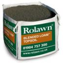 Rolawn Blended Loam Topsoil 1m Bulk Bag 1000 litres approx volume when packed